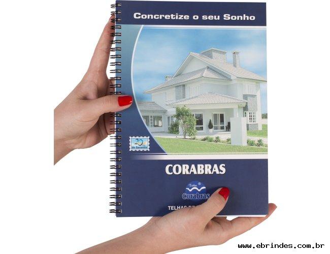Agenda/Caderno capa flexível