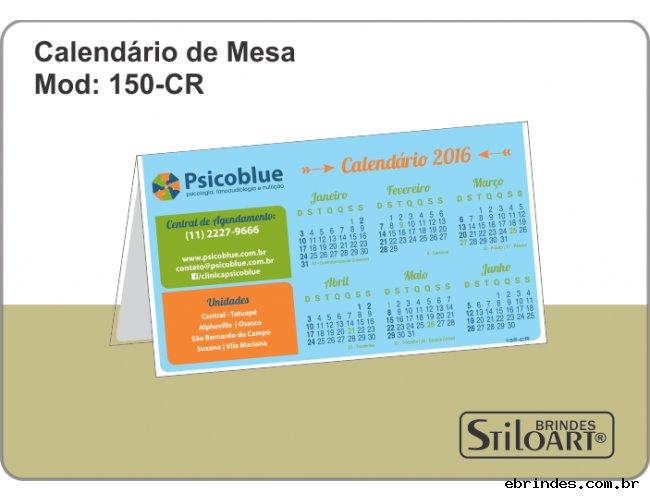 Calendários de Mesa 150-CR