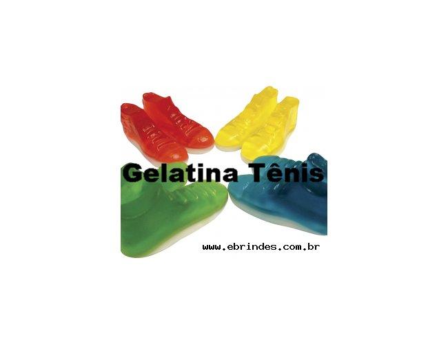 Bala gelatina de tenis