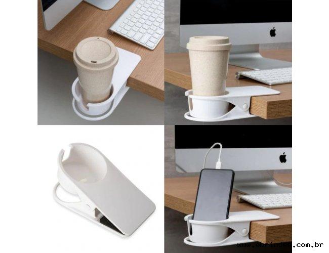 Suporte de mesa para  copo e/ou celular