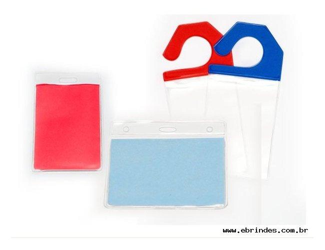 Porta  Documentos e Crachá em PVC