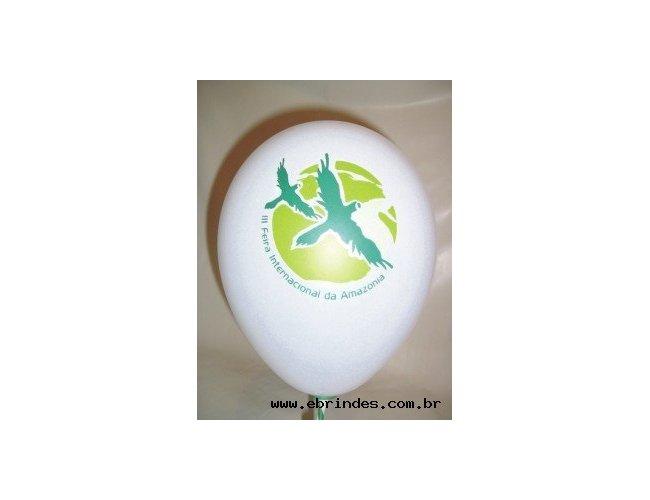 Balão de Látex  Com Logotipo