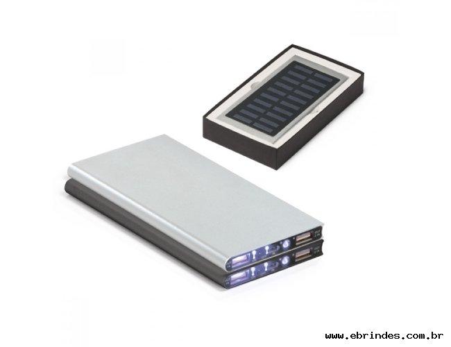 Bateria portátil solar
