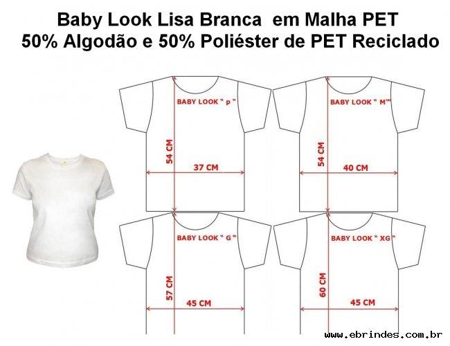 BABY LOOK MALHA PETY =R$25,90