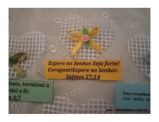 LEMBRANCINHAS IMÃ ( com versiculos biblicos )