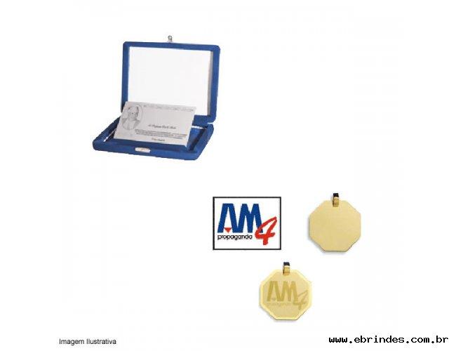 Brindes Corporativos - Pingente ou Placa com Gravação de Logotipo e/ou Logomarca de sua Em