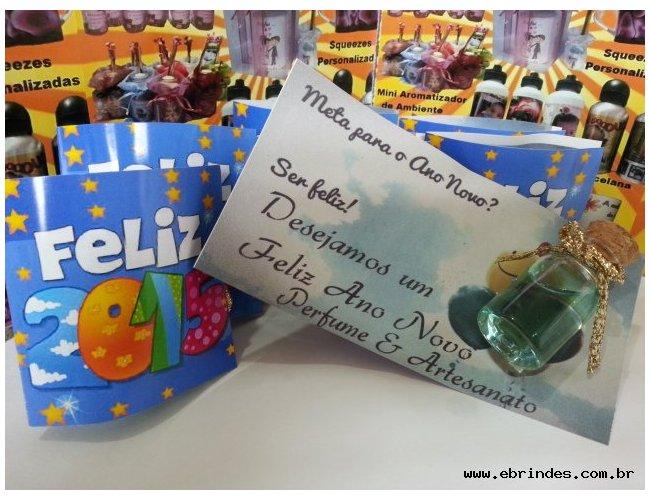 Àgua perfumada c/ cartão personalizado