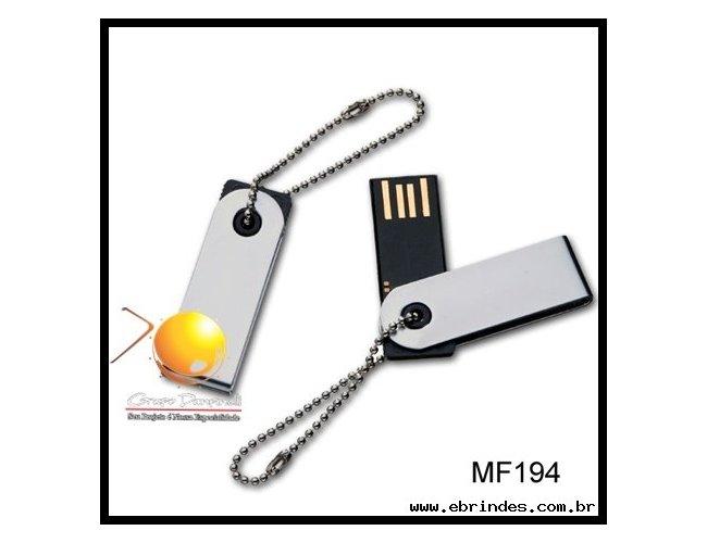 Pen Drive Mini Giratório USB