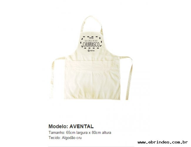 Avental Eco