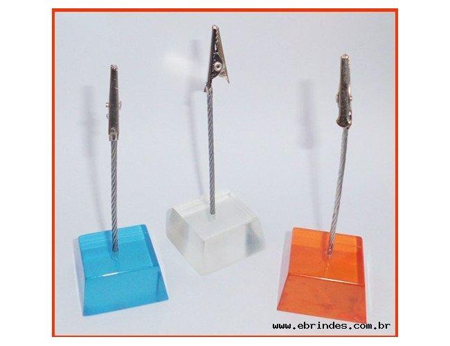 Porta Recado em Resina Formato de Cubo 16 x 3,3x 3,3 cm. Cod.MB1155