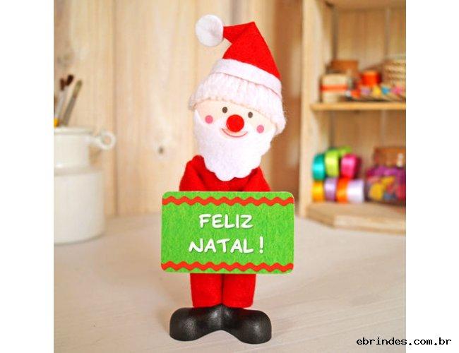 Bonecos de Natal com Mensagens!