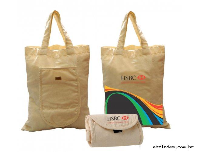 Sacola Eco carteira  Dobravel Com Velcro