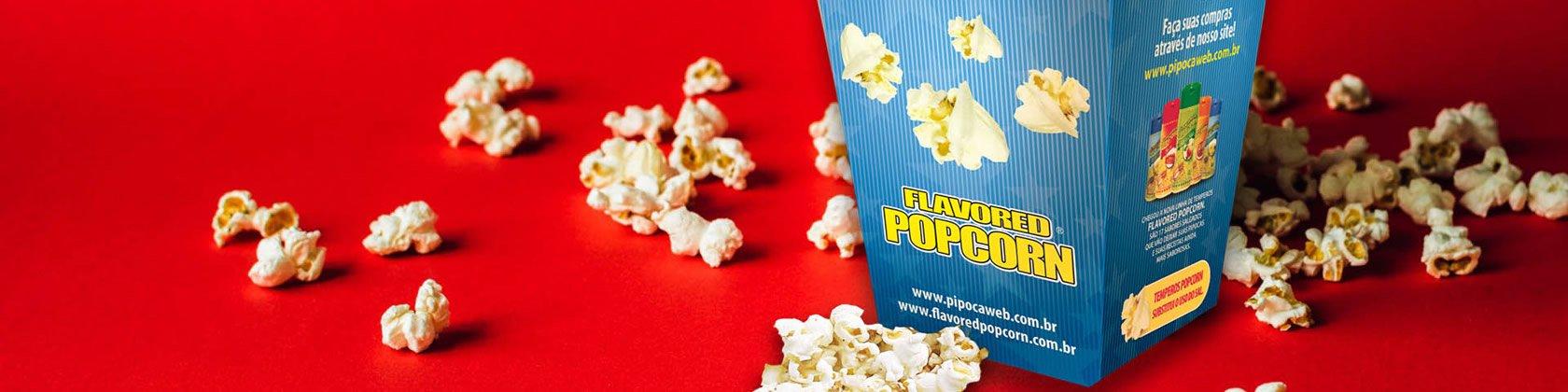 Flavored Popcorn - Pipocaweb