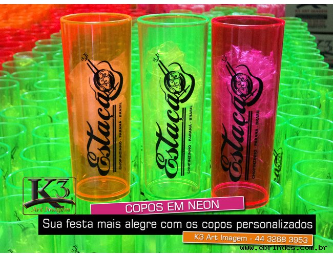 Copos Long Drinks - Personalizados