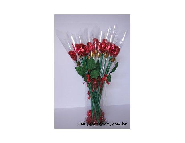Rosas de chocolates