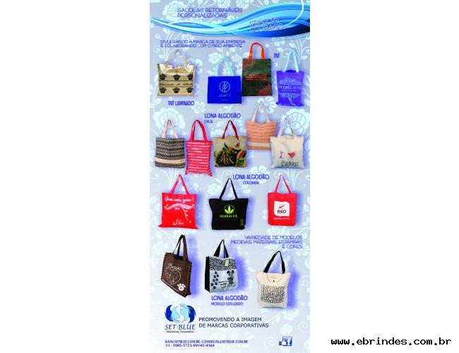 Ecobags e sacolas