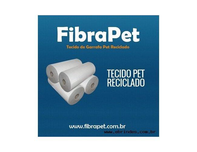 Tecido Pet 150 g/m² para sublimação e silk screen