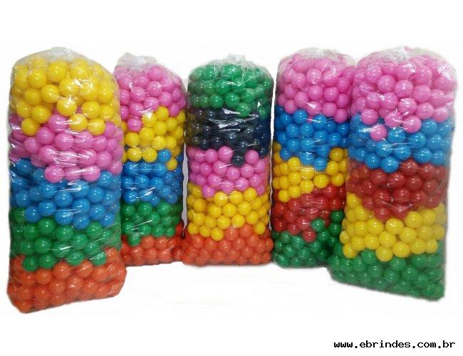 Bolinhas para Piscina Coloridas