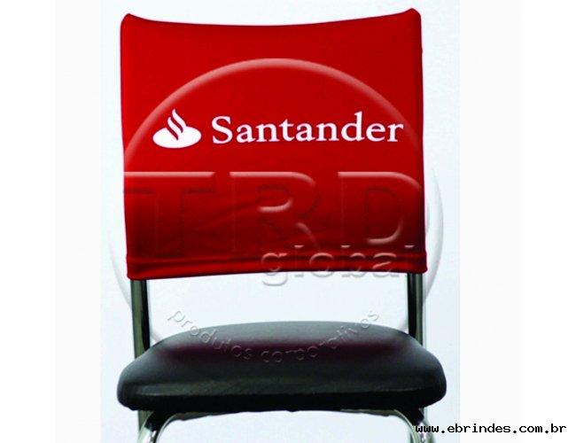 Capa de cadeira personalizada