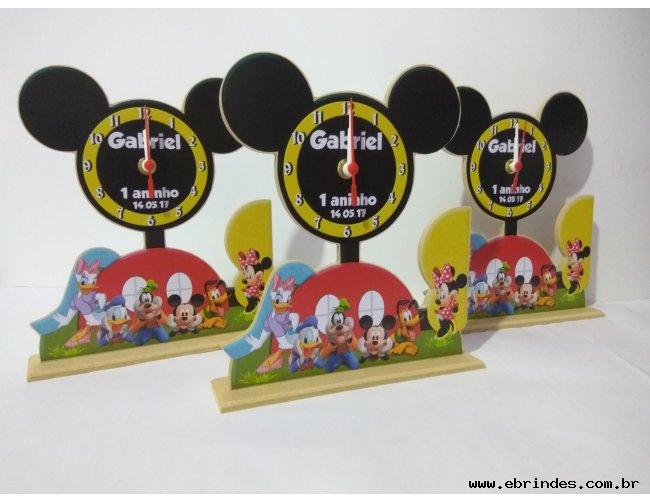 Relógio Casa do Mickey