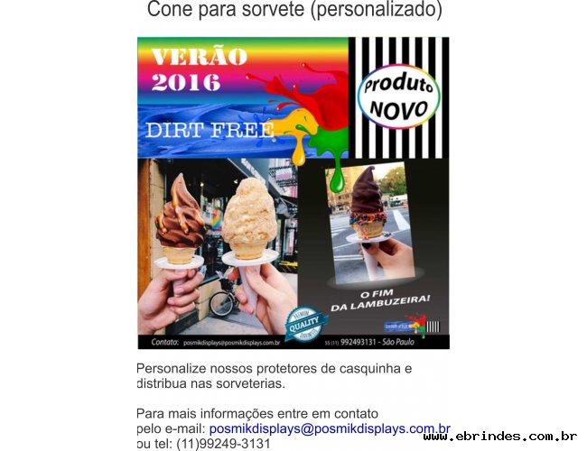 Cone protetor p/ sorvete