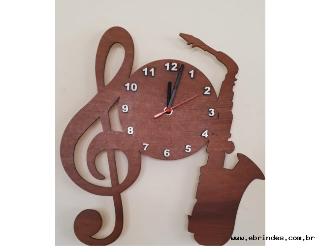 Relógio Personalizado de MDF