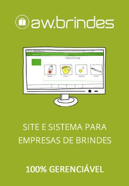 aw.brindes | Site e sistema específico para empresas de brindes